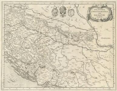 Sclavonia Croatia Bosnia cum Dalmatiae Parte
