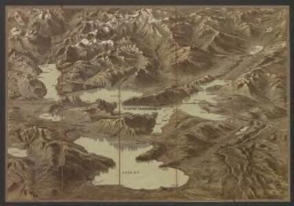Karte des Vierwaldstättersees