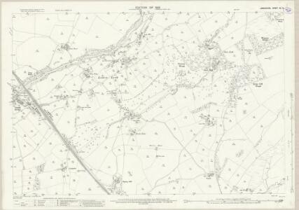 Lancashire XX.6 (includes: Burrow With Burrow; Ireby; Leck) - 25 Inch Map