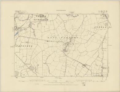 Northamptonshire XIII.NE - OS Six-Inch Map