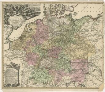 Mappa Geographica exhibens Postas