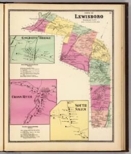 Lewisboro, Town.