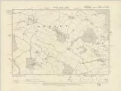 Shropshire XVI.NE - OS Six-Inch Map
