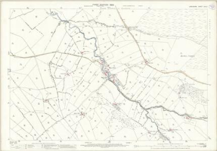 Lancashire LVII.2 (includes: Colne; Trawden) - 25 Inch Map