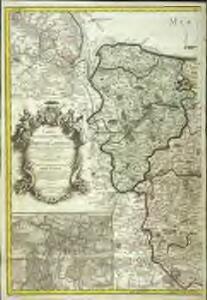 Carte topographique du diocese de Bayeux, 1