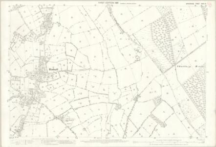 Shropshire XXVIII.8 (includes: Astley; Hadnall; Shawbury) - 25 Inch Map