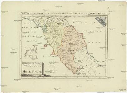 Postkarte von Mittel Italien