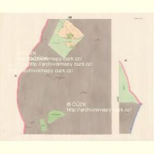 Lomna (Lomno) - m0508-1-011 - Kaiserpflichtexemplar der Landkarten des stabilen Katasters