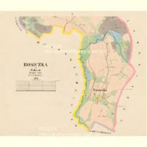 Rosiczka - c6540-1-002 - Kaiserpflichtexemplar der Landkarten des stabilen Katasters
