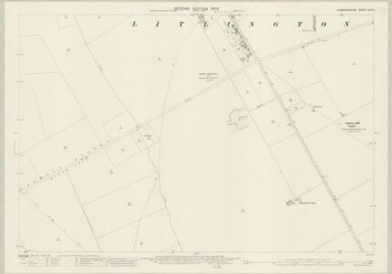Cambridgeshire LVII.12 (includes: Litlington; Steeple Morden) - 25 Inch Map