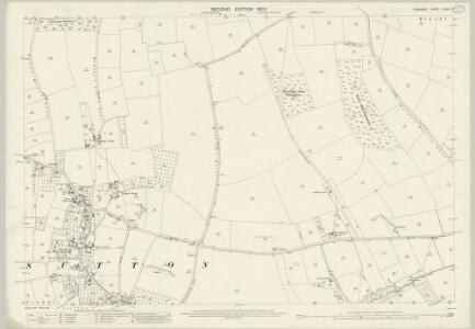 Somerset LXXIII.6 (includes: Long Sutton; Somerton) - 25 Inch Map