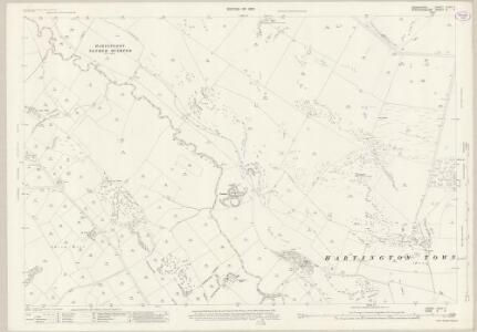 Derbyshire XXVII.7 (includes: Hartington Middle Quarter; Hartington Town Quarter; Longnor; Sheen) - 25 Inch Map