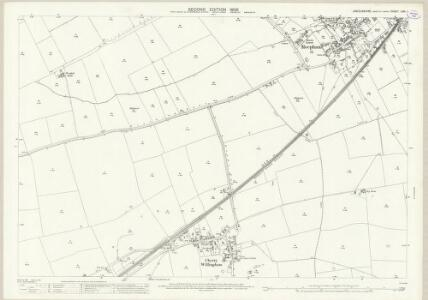 Lincolnshire LXXI.1 (includes: Cherry Willingham; Fiskerton; Greetwell; Reepham) - 25 Inch Map