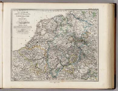 Nord-Westliches Deutschland, Niederlande Und Belgien.
