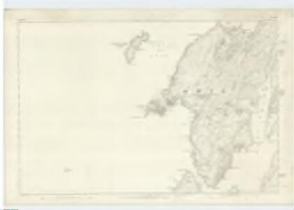 Argyllshire, Sheet CXXI - OS 6 Inch map
