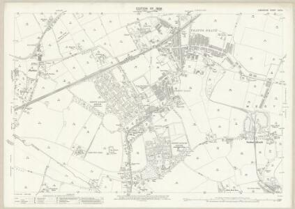 Lancashire CVII.8 (includes: Eccleston; Rainhill; St Helens; Whiston) - 25 Inch Map