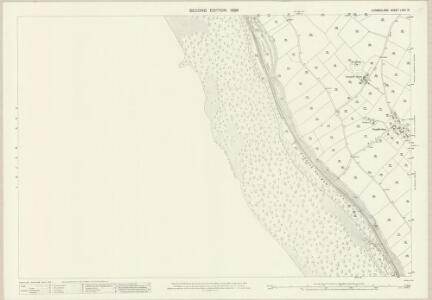 Cumberland LXXII.10 (includes: Lowside Quarter) - 25 Inch Map