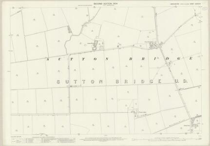 Lincolnshire CXXXVI.15 (includes: Sutton Bridge) - 25 Inch Map