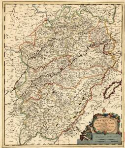 Comitatus Burgundiae, Vulgo la Franche Comté