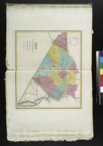 Map of the counties of Orange and Rockland / by David H. Burr; engd. by Rawdon, Clark & Co., Albany, & Rawdon, Wright & Co., N. York.; An atlas of the state of New York: containing a map of the state and of the several counties. / Projected and drawn under the superintendence and direction of Simeon de Witt ... And also the physical geography of the State ...