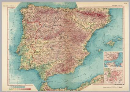 Spain and Portugal.  Pergamon World Atlas.