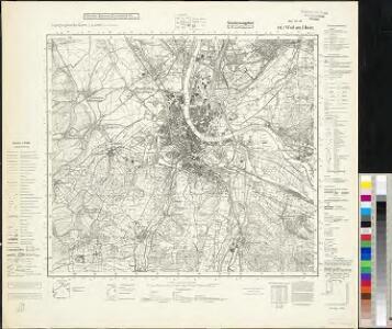 Meßtischblatt 8411 : Weil am Rhein, 1942