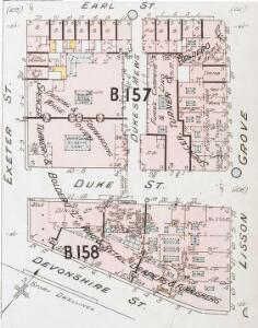 Insurance Plan of London West North-West District Vol. B: sheet 19-1