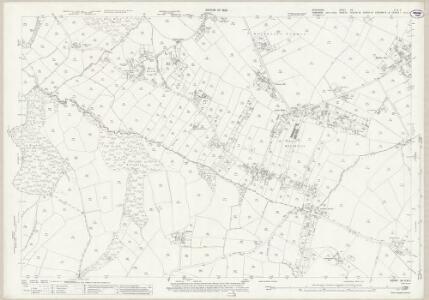 Derbyshire XII.6 & 5 (includes: Sheffield) - 25 Inch Map