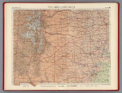 U.S.A. Great Plains South, Plate 109, Vol. V