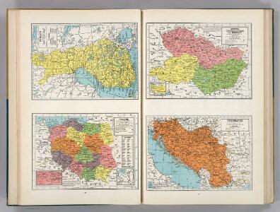 Finland.  Poland.  Austria, Czechoslovakia, and Hungary.  Yugoslavia.