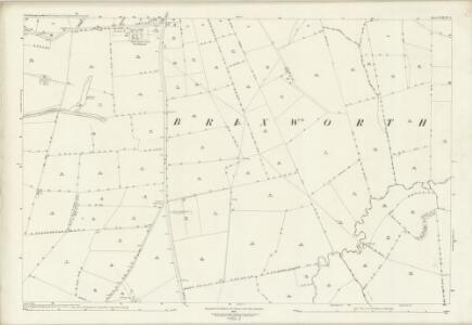 Northamptonshire XXXVIII.1 (includes: Brixworth; Moulton; Pitsford) - 25 Inch Map