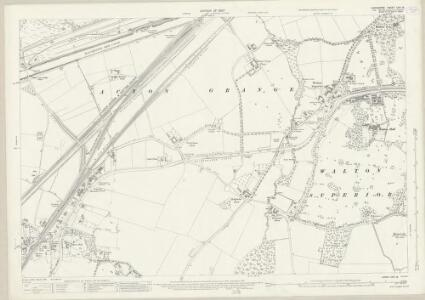 Lancashire CXV.12 (includes: Moore; Penketh; Walton) - 25 Inch Map