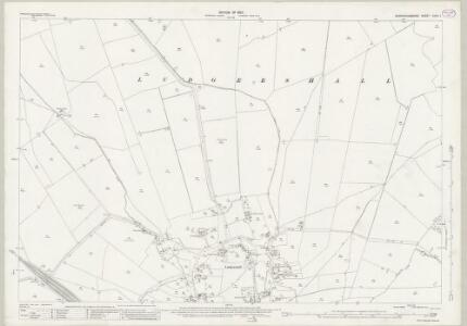 Buckinghamshire XXVII.1 (includes: Ludgershall) - 25 Inch Map