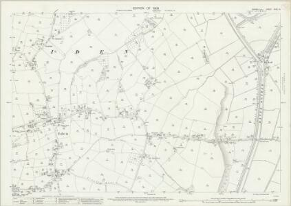 Sussex XXXII.15 (includes: Iden; Playden) - 25 Inch Map