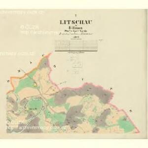 Litschau - c4071-1-001 - Kaiserpflichtexemplar der Landkarten des stabilen Katasters
