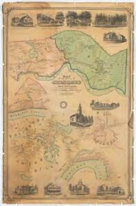 Map of the towns of Salisbury & Amesbury : Essex County, Mass