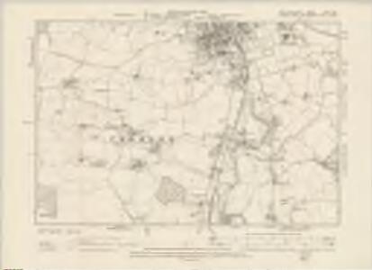 Hertfordshire XXIII.SW - OS Six-Inch Map