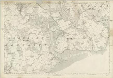 Hampshire & Isle of Wight LXXXI - OS Six-Inch Map