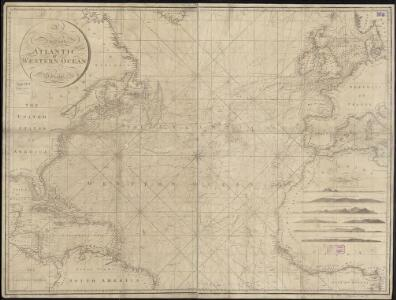 A new chart of the Atlantic or Western Ocean