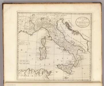 Italy, and Sardinia.