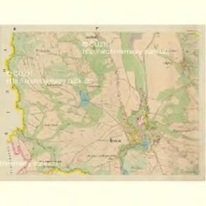 Hasslau - c1802-1-002 - Kaiserpflichtexemplar der Landkarten des stabilen Katasters