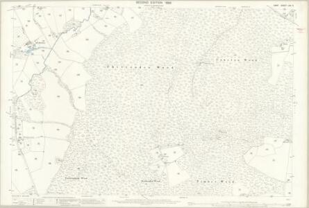 Kent LXXI.5 (includes: Benenden; Biddenden; Cranbrook) - 25 Inch Map