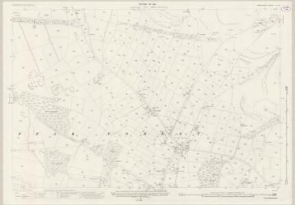 Derbyshire IX.15 (includes: Peak Forest) - 25 Inch Map