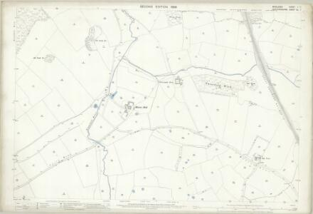 Middlesex I.7 (includes: North Mimms; South Mimms) - 25 Inch Map