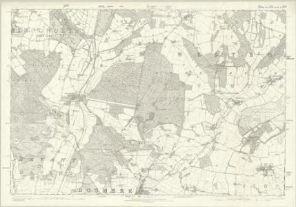 Sussex XLVII - OS Six-Inch Map