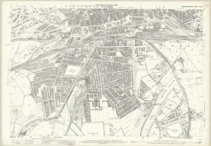 Nottinghamshire XLII.6 (includes: Nottingham; West Bridgford) - 25 Inch Map