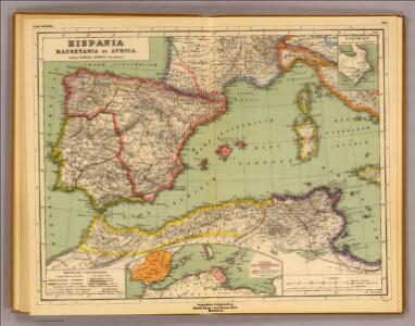 Hispania, Mauretania et Africa.
