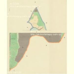 Branna - c0470-1-001 - Kaiserpflichtexemplar der Landkarten des stabilen Katasters