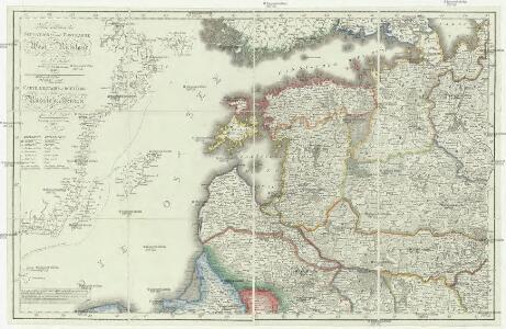 Neue militairische Situations- und Postkarte von West-Russland