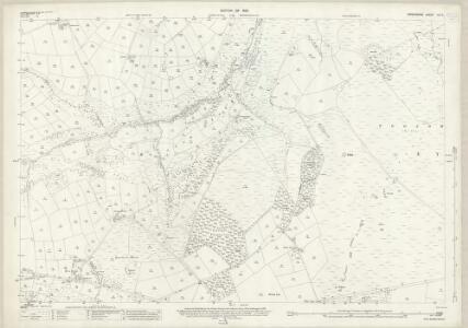 Derbyshire XVI.3 (includes: Abney and Abney Grange; Eyam Woodlands; Eyam; Foolow) - 25 Inch Map